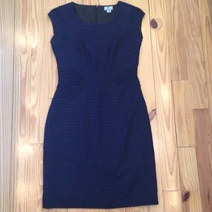 Worthington Navy Black Knee Length Dress